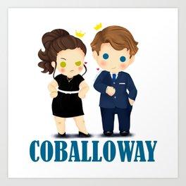 Coballoway - Chibi Version Art Print