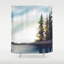 Open Space Shower Curtain