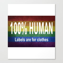 Human equality Canvas Print