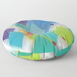 Original Abstract Duvet Covers by Mackin & MORE Floor Pillow