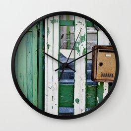 post Wall Clock