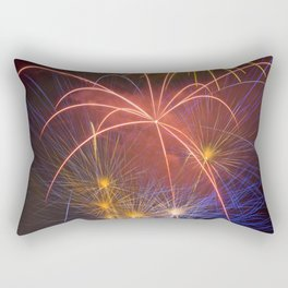 Fireworks Finale Rectangular Pillow