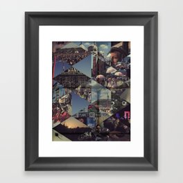 Glasto 2010 Framed Art Print