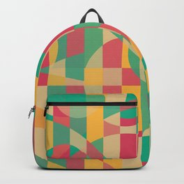 Abstract Graphic Art - Contemporary Music Backpack