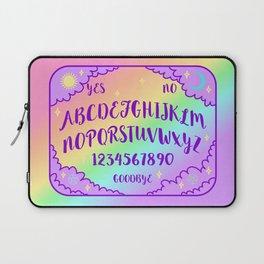 Purple and Rainbow Spirit Board Laptop Sleeve
