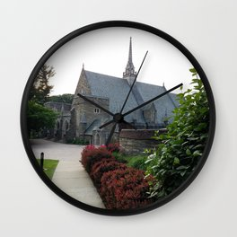 Approach to Goodhart Hall at Bryn Mawr Wall Clock