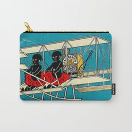 Vintage Clean Carry-All Pouch
