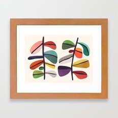 Plant specimens Framed Art Print