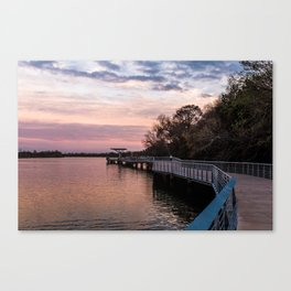 The Boardwalk at Lady Bird Lake Canvas Print