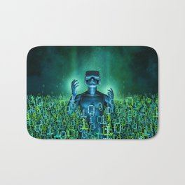 Virtual Dawn Bath Mat