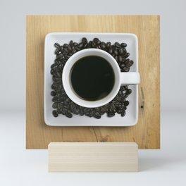 Coffee On The Table Mini Art Print
