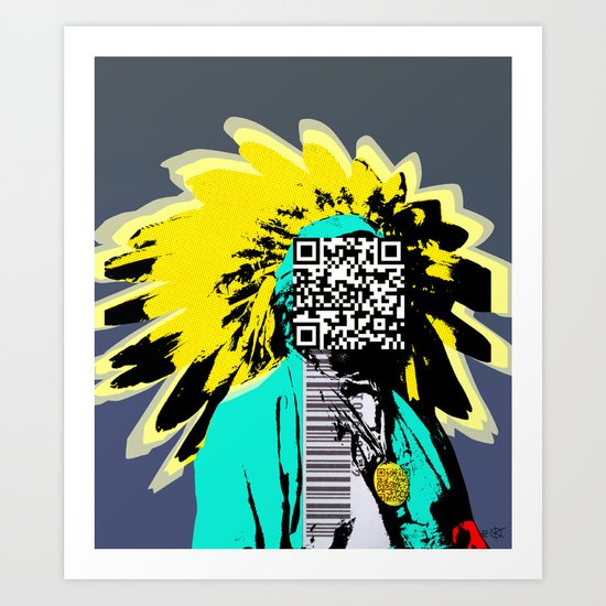 Indian Pop 33 Art Print