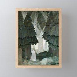 Pine Forest Clearing Framed Mini Art Print