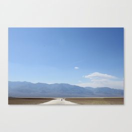 Badwater Basin, Death Valley Canvas Print