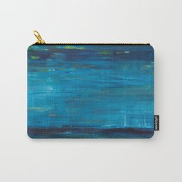 blue vertical Carry-All Pouch