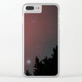Algonquin Sky #1 Clear iPhone Case