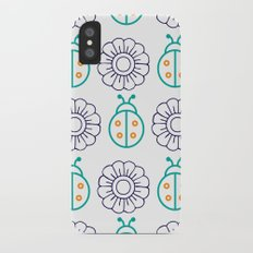 Flowers Insects iPhone X Slim Case