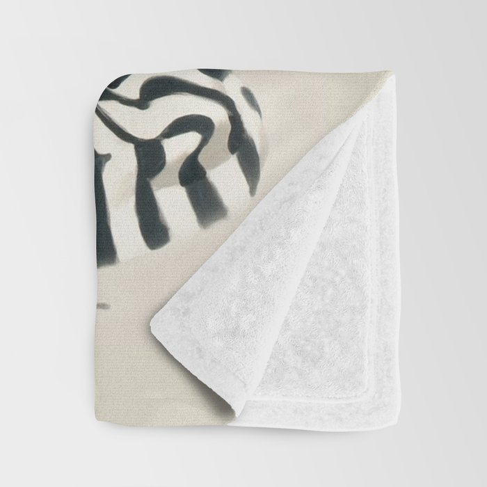 Vintage Pin Up Girl Throw Blanket