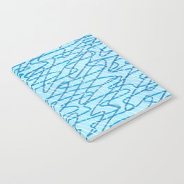 Blue Ripples Notebook