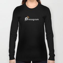 Pressgram Logo Long Sleeve T-shirt