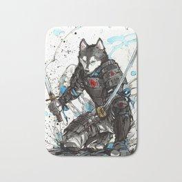 Year of the Dog...Samurai! Bath Mat
