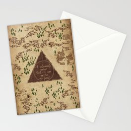 Marauder's Map - I Solemnly Swear Stationery Cards