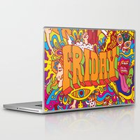 friday Laptop & iPad Skins featuring Friday by Roberlan Borges