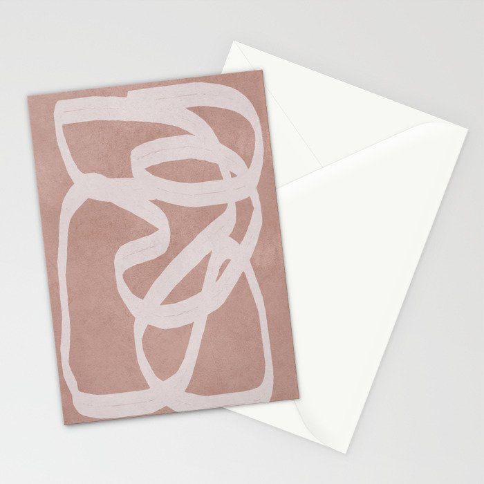 Abstract Flow I Stationery Cards