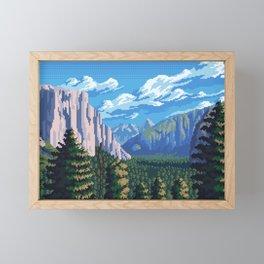 Valley Framed Mini Art Print