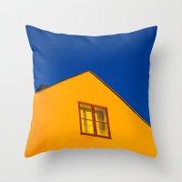 swedish Throw Pillows featuring Swedish by Georgios Karamanis