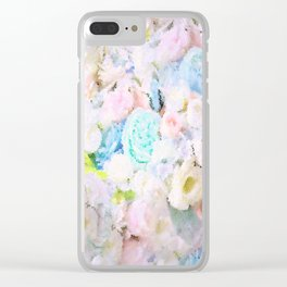 ROSE WHISPERER FADE OUT MOSAIC IMPRESSION Clear iPhone Case