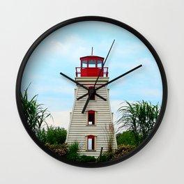 Garden Lighthouse Wall Clock