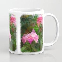 Pink Roses in Anzures 5 Art Triangles 1 Coffee Mug