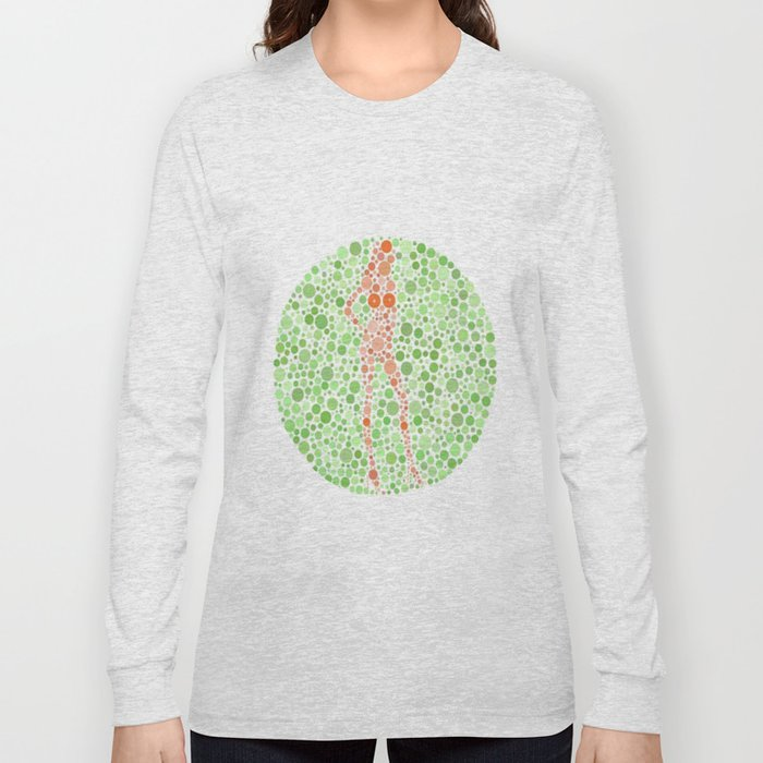 Color Blind Test Long Sleeve T-shirt