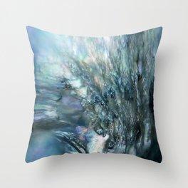 Sea Dog Abstract Throw Pillow