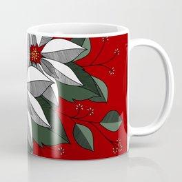 Holiday Flowers Coffee Mug