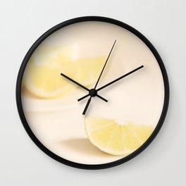 Lemon Love. Wall Clock