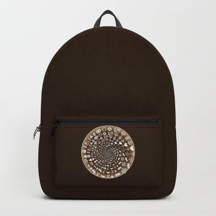 Coffee Lovers Mandala Backpack