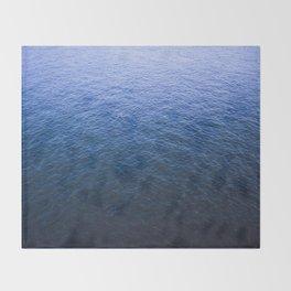Blue Elbe Throw Blanket