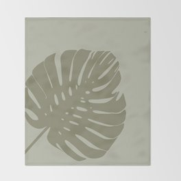 flat Plant Throw Blanket