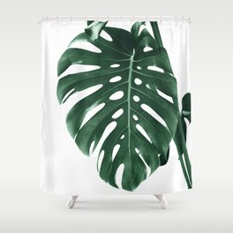 Monstera Delight #4 #tropical #decor #art #society6 Shower Curtain