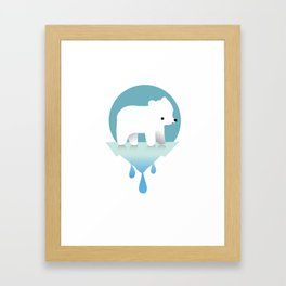 Sustainable Love Framed Art Print
