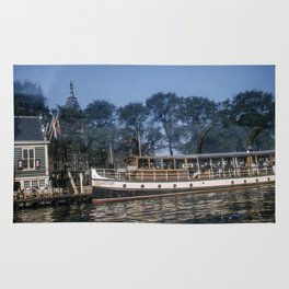 Vintage Color Photo * Amsterdam * Sightseeing * Boat * 1950's * Kodachrome * 1940's Rug