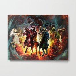 The Four Horsemen Metal Print