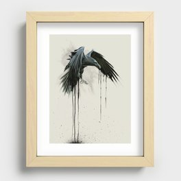 The Raven Recessed Framed Print