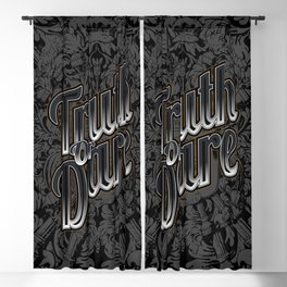 Truth Or Dare Blackout Curtain