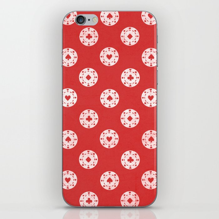 Poker Dots iPhone Skin