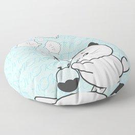 Smoke Cat not War Floor Pillow