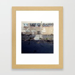 #63Photo #BirdsEyeView #StreetTextures #Jozi Framed Art Print