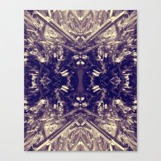 Psychedelic Stibnite  Canvas Print